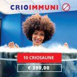 Criosauna per rafforzare le difese immunitarie
